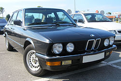 BMW 525e Kat.