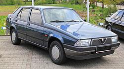 Alfa Romeo 75 2.0 T. Spark