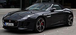 Jaguar F Type SVR Cabriolet