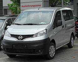 Nissan Evalia 16V 110