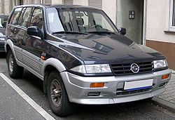 SsangYong Musso Sports 2.9