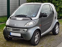 smart fortwo coupe 1.0 mhd