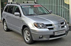 Mitsubishi Outlander 2.4 LPG