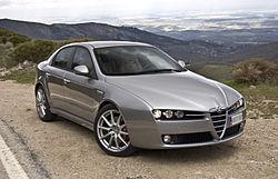Alfa Romeo 159 3.2 JTS V6 24V